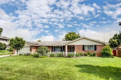 Beavercreek Single Family Home Pending/Show for Backup: 3124 Felton Drive