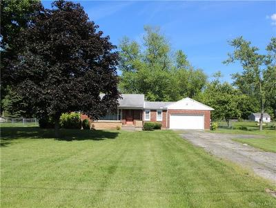 Vandalia Single Family Home Pending/Show for Backup: 8566 Peters Pike
