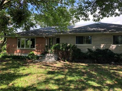Clayton Single Family Home For Sale: 5320 Oakes Road