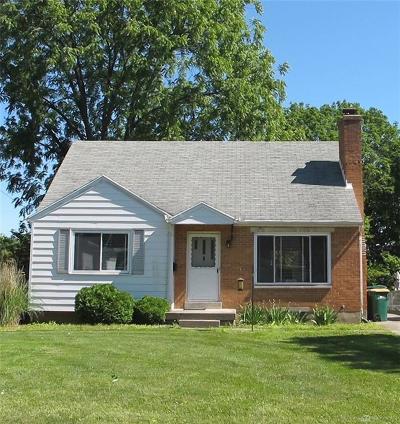 Dayton Single Family Home For Sale: 615 Hadley Avenue