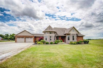 Fayette County Single Family Home For Sale: 387 Staunton Sugar Grove Road