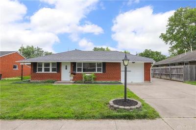 Dayton Single Family Home Pending/Show for Backup: 2621 Nyack Lane