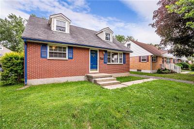 Kettering Single Family Home For Sale: 634 Hadley Avenue