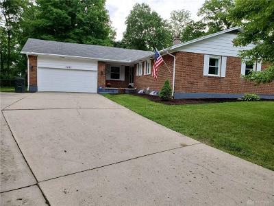 Beavercreek Single Family Home Pending/Show for Backup: 3483 Sunnyside Drive
