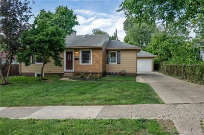 Dayton Single Family Home For Sale: 713 Burkhardt Avenue
