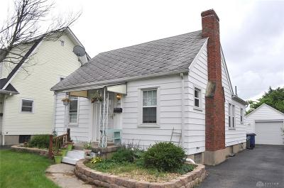 Dayton OH Single Family Home For Sale: $87,500