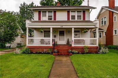 Fairborn Single Family Home For Sale: 219 Central Avenue