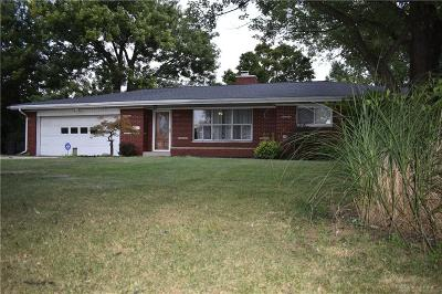 New Carlisle Single Family Home For Sale: 10872 Kendig Road