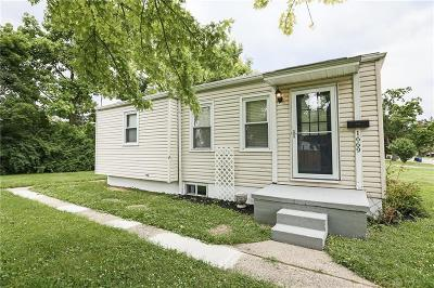 Dayton OH Single Family Home For Sale: $64,900