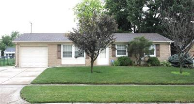 Vandalia Single Family Home Pending/Show for Backup: 135 Halifax Drive