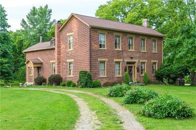 New Carlisle Single Family Home For Sale: 9008 Milton Carlisle Road