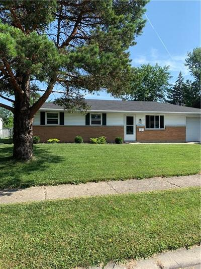Vandalia Single Family Home Pending/Show for Backup: 737 Kirkwood Drive