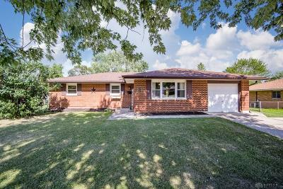 Dayton OH Single Family Home For Sale: $119,900