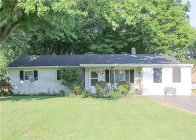 Highland County Single Family Home For Sale: 6884 McCoppin Mill
