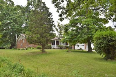 South Vienna Single Family Home Pending/Show for Backup: 9775 Old Columbus Road