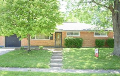 Dayton Single Family Home For Sale: 5680 Traymore Drive