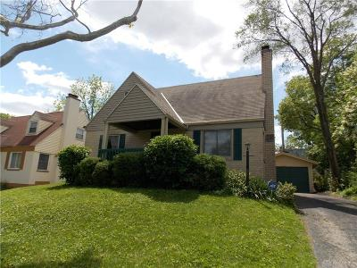 Dayton OH Single Family Home For Sale: $52,500