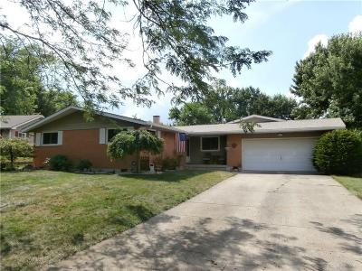 Tipp City Single Family Home For Sale: 55 Amokee Place