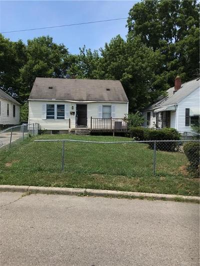 Dayton Single Family Home For Sale: 317 Geneva Road