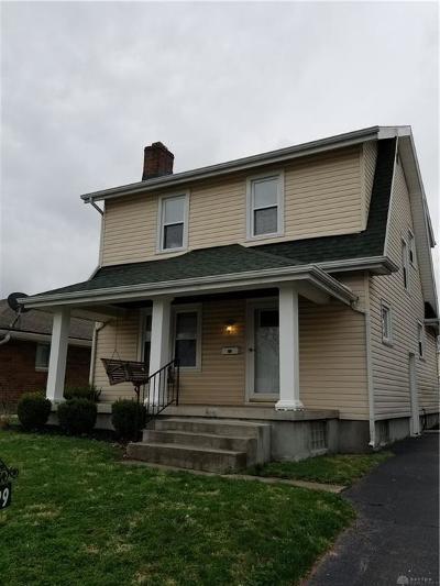 Dayton Single Family Home For Sale: 1429 Rosemont Boulevard
