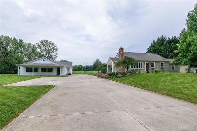 Tipp City Single Family Home For Sale: 8265 State Route 202