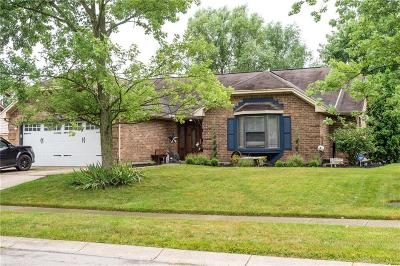 Huber Heights Single Family Home For Sale: 8878 Trowbridge Way