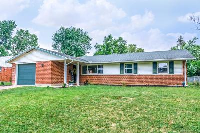 Huber Heights Single Family Home For Sale: 6237 Longford Road