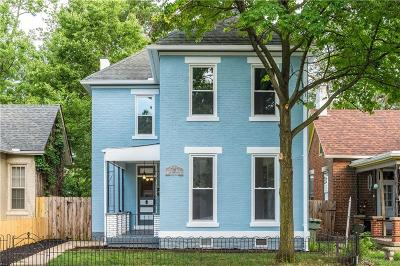 Dayton Single Family Home Pending/Show for Backup: 316 Johnson Street