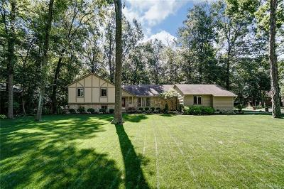 Troy Single Family Home For Sale: 2895 Broken Woods Drive