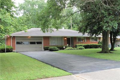 Dayton Single Family Home Pending/Show for Backup: 631 Burgess Avenue