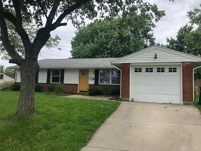 Huber Heights Single Family Home For Sale: 7613 Rothfield Drive