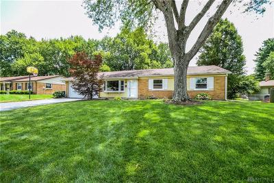 Dayton Single Family Home Pending/Show for Backup: 150 Gracewood Drive