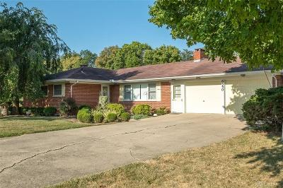 Tipp City Single Family Home For Sale: 6550 Pisgah Road