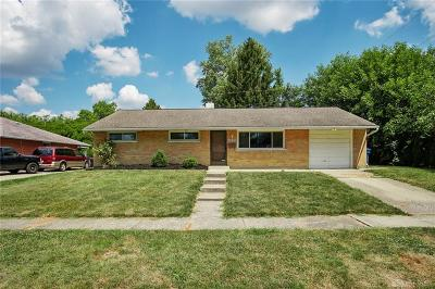 Huber Heights Single Family Home For Sale: 4255 Kitridge Road