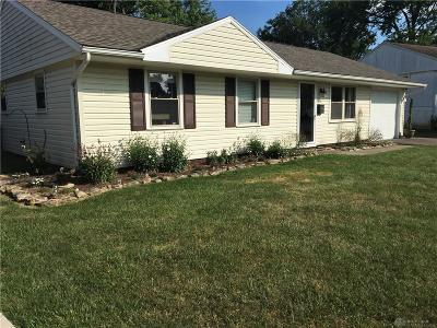 New Carlisle Single Family Home Pending/Show for Backup: 508 Bookwalter