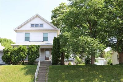 Dayton Single Family Home For Sale: 1651 Gondert Avenue