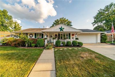 Dayton Single Family Home Pending/Show for Backup: 4612 Powell Road