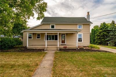New Carlisle Single Family Home Pending/Show for Backup: 8782 Bellefontaine Road