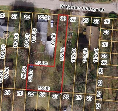 Greene County Residential Lots & Land For Sale: 210 Center College Street