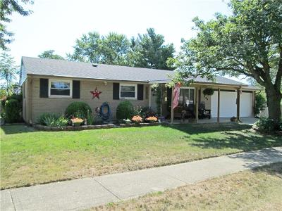 Brookville Single Family Home For Sale: 208 Brookside Drive