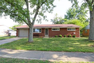 Dayton Single Family Home For Sale: 6427 Luton Court