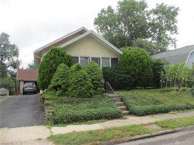 Dayton Single Family Home For Sale: 4215 Pleasant View Avenue