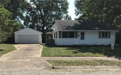 Springfield Single Family Home Pending/Show for Backup: 1703 Memorial Drive