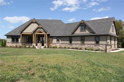Tipp City Single Family Home For Sale: 1123 Kessler Cowl Road