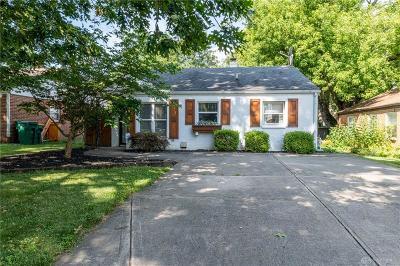 Kettering Single Family Home For Sale: 2617 Oakley Avenue