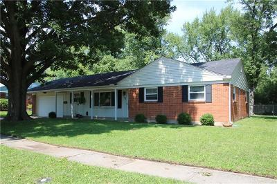 Kettering Single Family Home For Sale: 1113 Benfield Drive