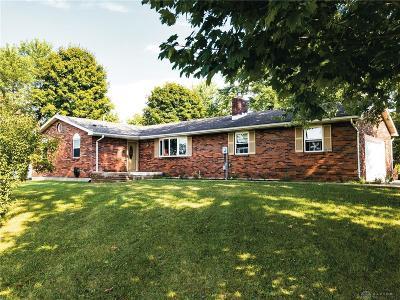 Warren County Single Family Home For Sale: 7425 Franklin Trenton Road