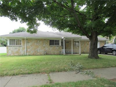 Dayton Single Family Home For Sale: 1406 Steiner Avenue