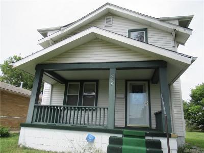 Dayton Single Family Home For Sale: 779 Edgemont Avenue