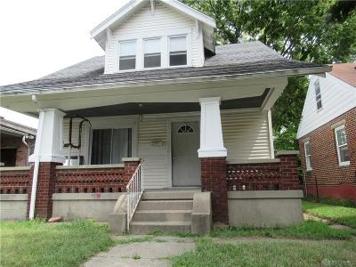 Dayton OH Single Family Home For Sale: $42,900